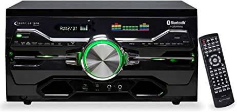 Technical Pro 4000w Karaoke Receiver/Amplifier/DVD/CD-G Player, Bluetooth/USB/FM
