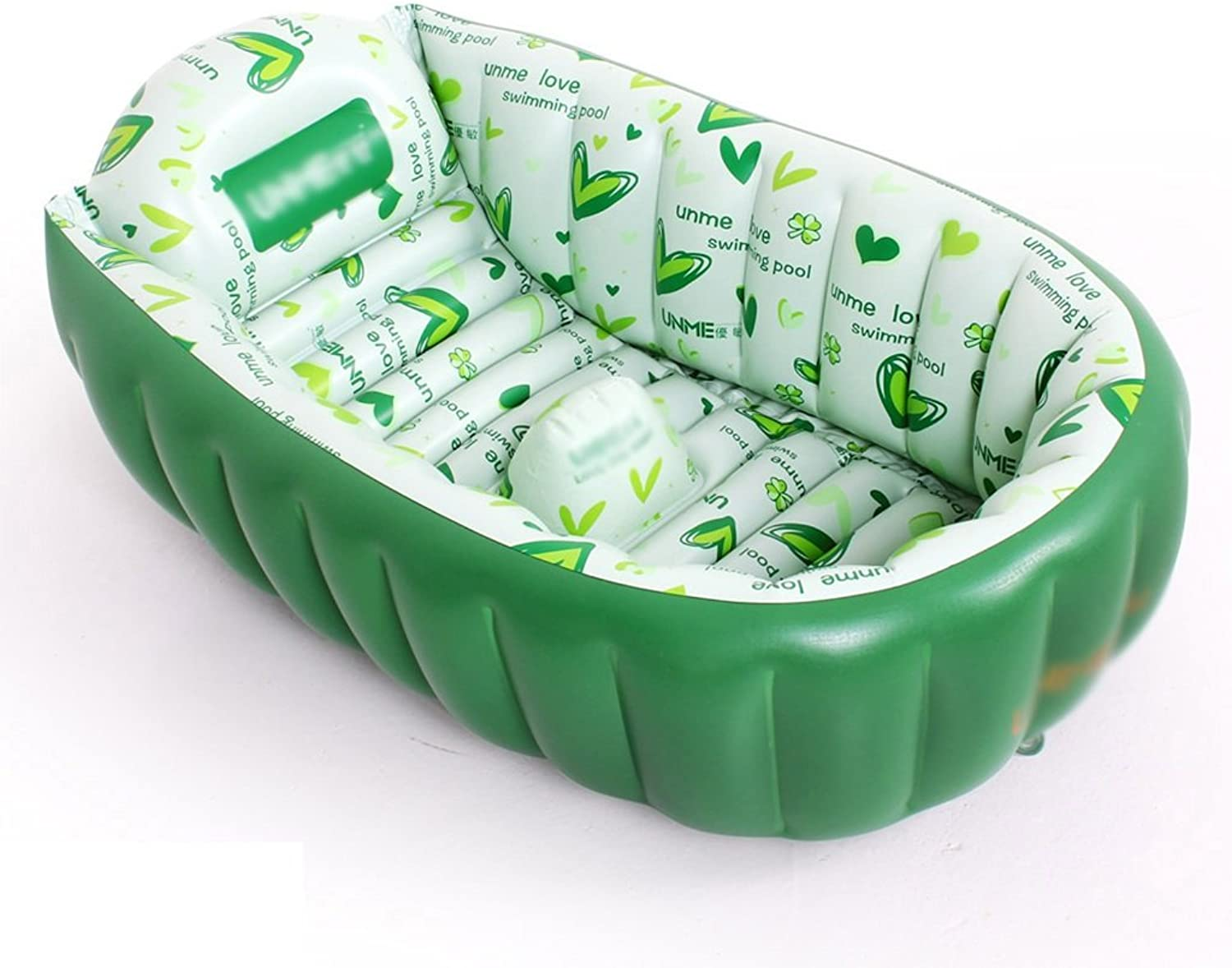 AJZGF Padded inflatable pool inflatable baby bathtub Bathtub