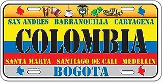 Dimension 9 Home Decorative Plates, Colombia
