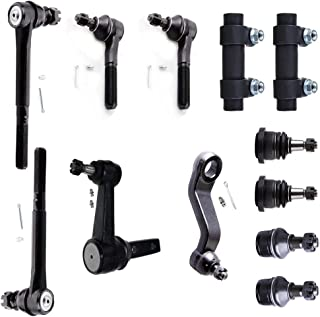 INEEDUP NEW 6 Set of Inner Outer Tie Rod Ends Tie Rod Adjusting Sleeve Compatible with for Cadillac Escalade Chevy Astro Blazer K1500 K2500 K3500 Tahoe GMC K1500 K2500 Suburban K3500 Safaria Yukon