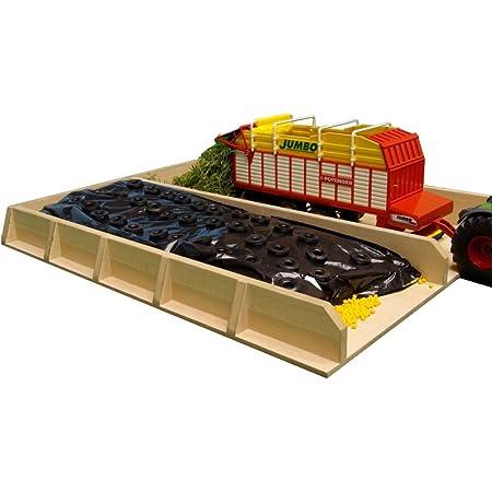 Kids Globe Fahrsilo Aus Holz 1 32 Silo Für Bauernhof Maße 38x46x5 Cm Spielzeug