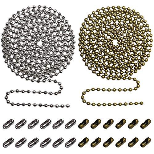 Kettenverlängerung Silber & Bronze
