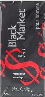 Black Market By Shirley May For Men Eau De Toilette, 100 Ml