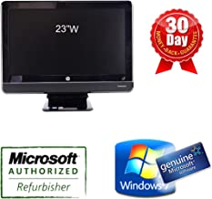 HP Compaq 8200 Elite All-in-One Business PC i5 2400s 2.5, 4G, SSD 120G, DVDRW, Wifi, Webcam, Windows 7 Professional, 23