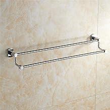 MBYW moderne minimalistische hoge dragende handdoek rek badkamer handdoekenrek Handdoek bar dubbele handdoek rek/roestvrij...
