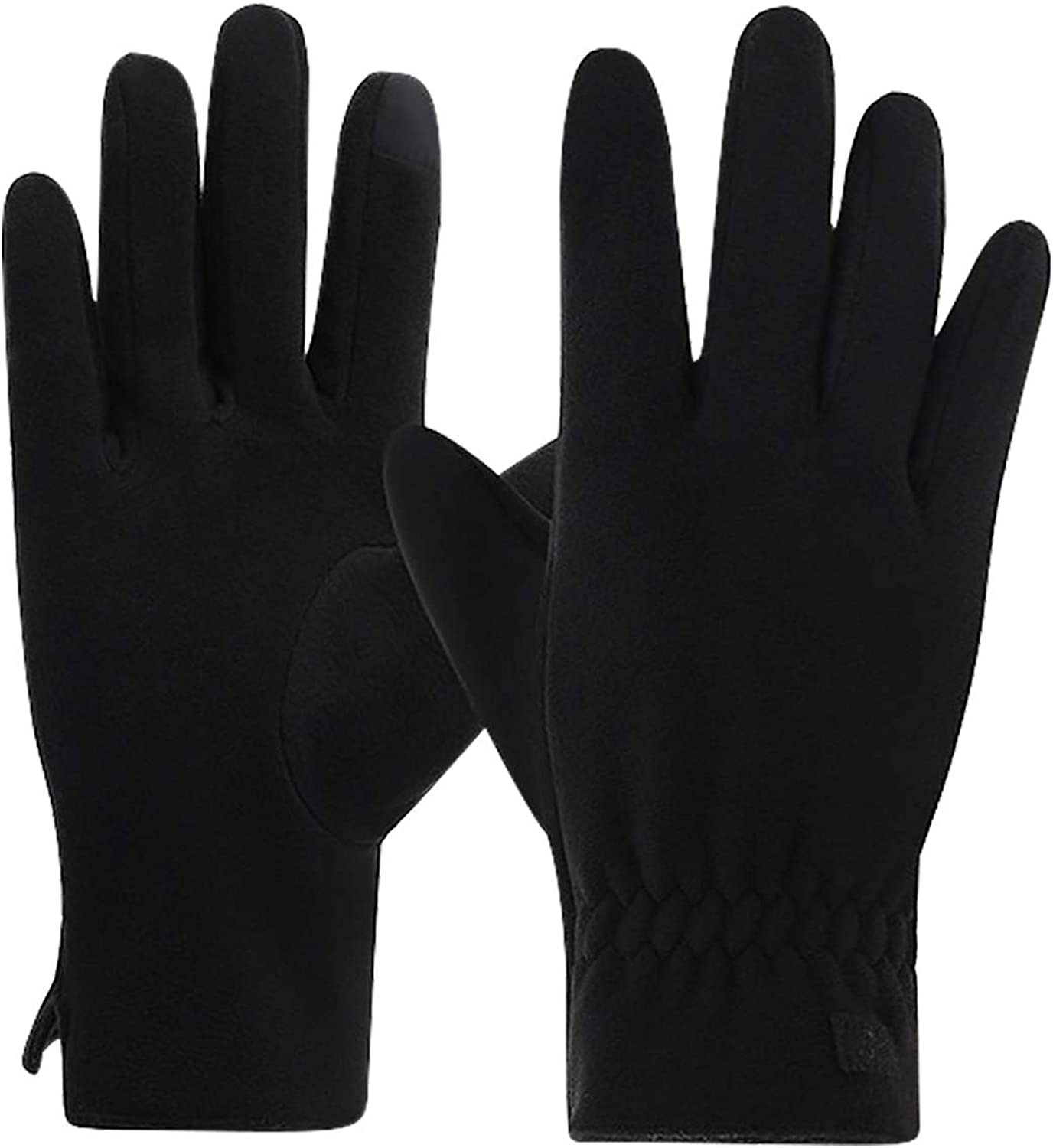 Fleece Warm Gloves In Winter, Wind And Cold Sports Warm Mittens, Suitable For Running, Driving, Cycling