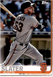 2019 Topps Team Edition San Francisco Giants #SG-10 Austin Slater San Francisco Giants Baseball Card