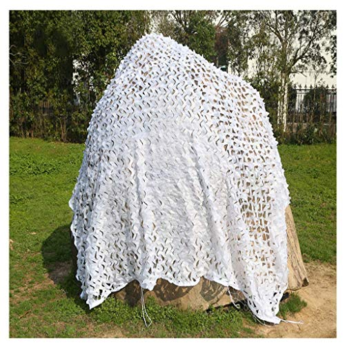 Multi Purpose Sunshade Camouflage Net Sneeuwwoestijn Blauw Jungle Digitale Camouflage Net Auto Cover Luifel Fotografie Vogels Kijken Interieur Decoratie Net Verborgen Multi-size Optioneel (kleur : E, Maat : 3 3*4m F