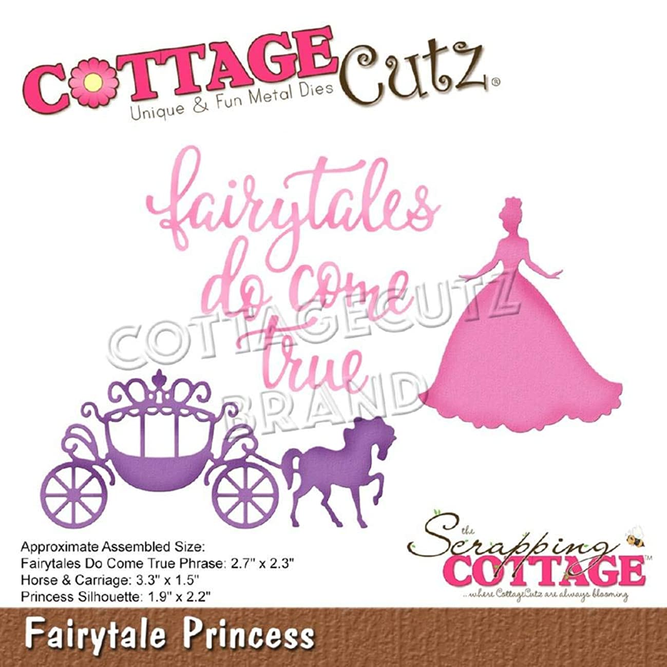 CottageCutz Fairytale Princess