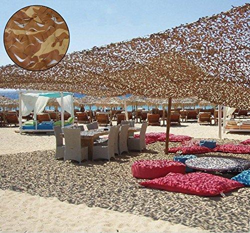 Oarea, red con decoración de camuflaje para casetas de caza, desert camo, 3x4M(10x13ft)