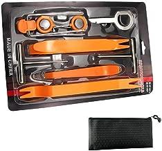 GOOACC No-Scratch Pry Tool Kit for Car Door Clip Panel /& Audio Dashboard Dismantle 5PCS