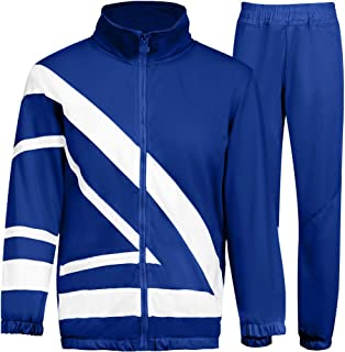 Men's Athletic Suit Sports Set Jogging Sweatsuits Full Zip Track Suits Casual Tracksuits