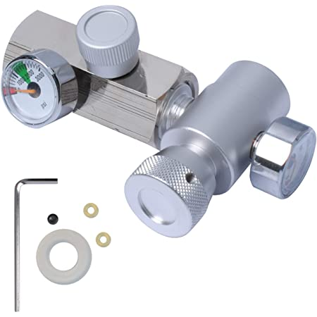 CO2 Refill Connector G1/2 CO2 Cylinder Refill Adapter with Hose ...