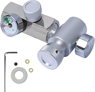 CO2 Cylinder Refill Adapter Connector Kit, Cga320 G1/2 Tank Adapter For Filling Soda Maker Sodastream