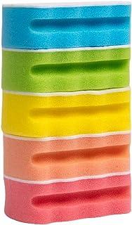 チーアン Tiann キッチンスポンジ 食器洗い スポンジ 台所用スポンジ 実用性 クリーニングビーズ キレイ 抗菌タイプ 5個