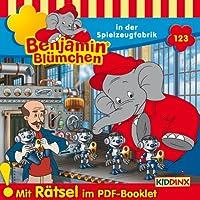 Benjamin Blümchen in der Spielzeugfabrik (Benjamin Blümchen 123) Hörbuch