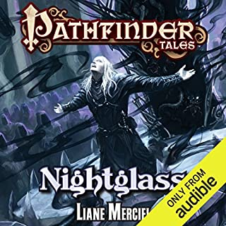 Nightglass                   By:                                                                                                                                 Liane Merciel                               Narrated by:                                                                                                                                 Eric Michael Summerer                      Length: 9 hrs and 27 mins     93 ratings     Overall 4.4