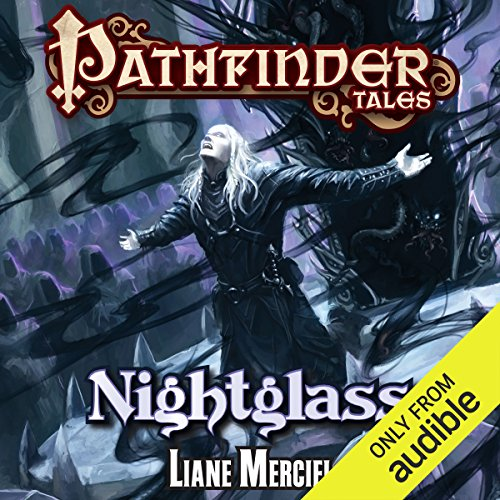 Nightglass audiobook cover art