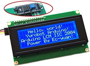 Diymore 2004 20x4 LCD Module Shield Blue Backlight with IIC/I2C/TWI Serial Interface for Arduino UNO R3 MEGA2560