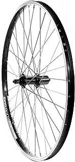 The Wheel Shop, Rear 26'' Wheel, Alex DM-18 Black / FH-RM70 Black, 36 Stainless Spokes, QR Axle, 8/9 Sp Cassette