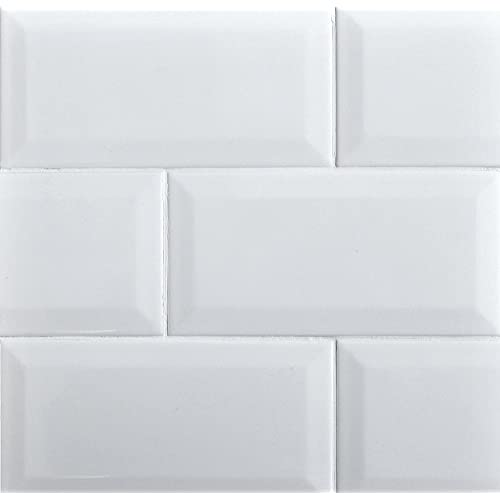White Subway Tile Backsplash: Amazon.com
