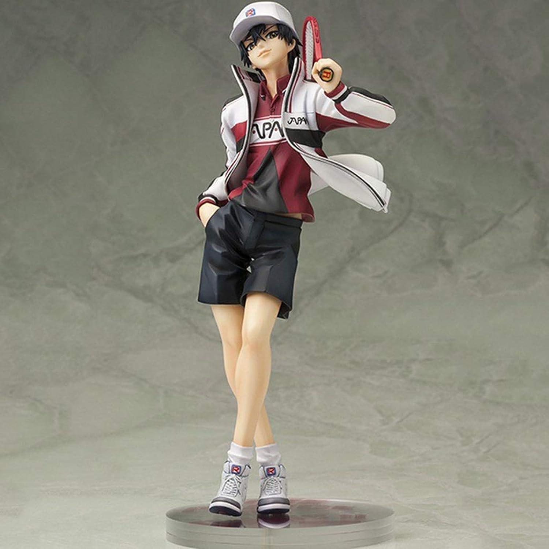 Anime Cartoon Spielfigur Tennis Prinz Modell Statue Hoch 21cm Spielzeug Ornament CQOZ