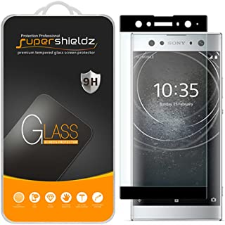 Supershieldz for Sony (Xperia XA2 Ultra) Tempered Glass Screen Protector, [Full Screen Coverage][3D Curved Glass] Anti-Scr...