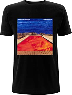 Red Hot Chili Peppers T Shirt Californication Band Logo Nouveau Officiel Homme
