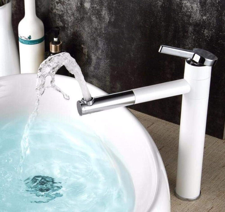 Wasserhahn für Waschbecken Waschbecken Wasserhahn, Kaltchrom Schwarz, Einhebelloch