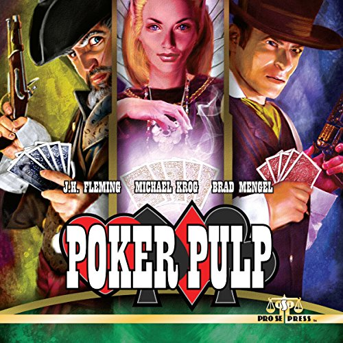 Poker Pulp audiobook cover art