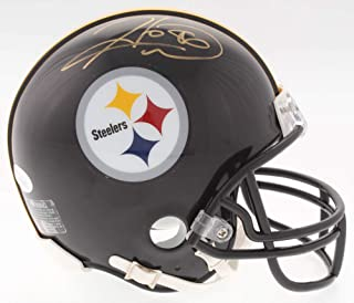 hines ward signed mini helmet