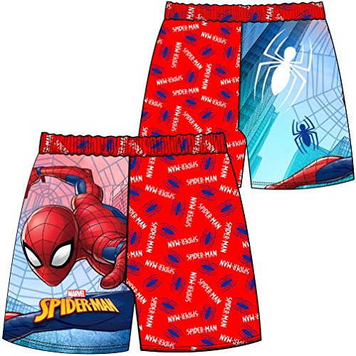 Junge Spiderman Badehose Badehose Alter 3 bis 10 - Spiderman, 134-140