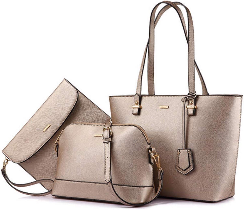 JQSM Handbag Women Shoulder Bags Designer Crossbody Bag Female Large Tote 3 Set Bag Big Luxury Small Purse and Handbag 2019
