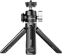 Mini Tripod, ULANZI Mini Camera Tripod with 360° Ball Head & Cold Shoe, Extendable Small Selfie Stick Tabletop Tripod for ...