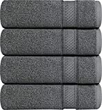 700 GSM Premium Towels Set 4 Pack - Cotton for Hotel & Spa