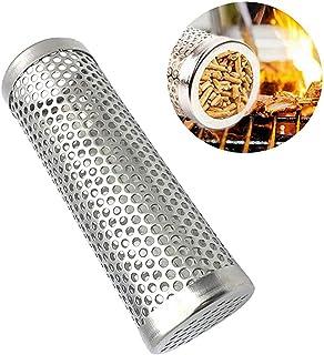 أنبوب دخان من كوسير 6 بوصة أنبوب شواية من الفولاذ المقاوم للصدأ مولد دخان الشواء