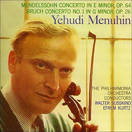 Yehudi Menuhin, Philharmonia Orchestra & Berliner Philharmoniker