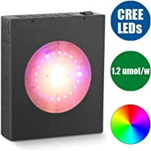 MEIZHI 300W CREE COB LED Plant Grow Light,Growing Lamps with Full Spectrum Daisy Chain Energy-efficient for Greenhouse Indoor Plants Hydroponic Veg and Flower (Chip on Board New Tech)