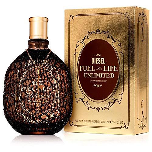 Diesel Fuel for Life Unlimited Pour Femme Eau de Parfum Spray 50 ml