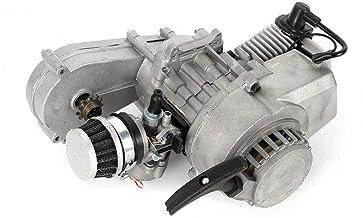Motor de 2 tiempos Dirtbike 49CC Cross Pocket Bike Kinderquad moto carburador luftgekühlt Mini ATV engranajes carburador frase