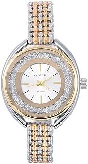 Women Bracelet Watch Luxury Rhinestone Electric Ladies Dress Watch