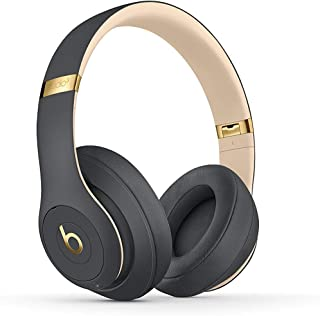 Beats S.t.u.d.io_3 Wireless Headphones Skyline Collection with Carrying Case,3.5mm RemoteTalk Cable and Universal USB Charging Cable (Shadow Gray)