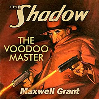 The Voodoo Master audiobook cover art