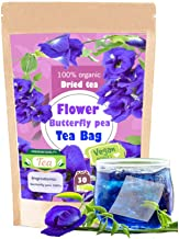 Premium Dried 30 Tea bags Butterfly pea tea flower dried Origin in Thailand Natural Taste