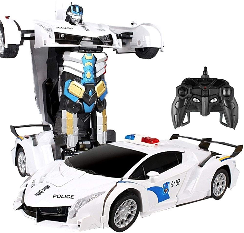 Kikioo Big Size Remote Control Car –Autobots RC Police Car