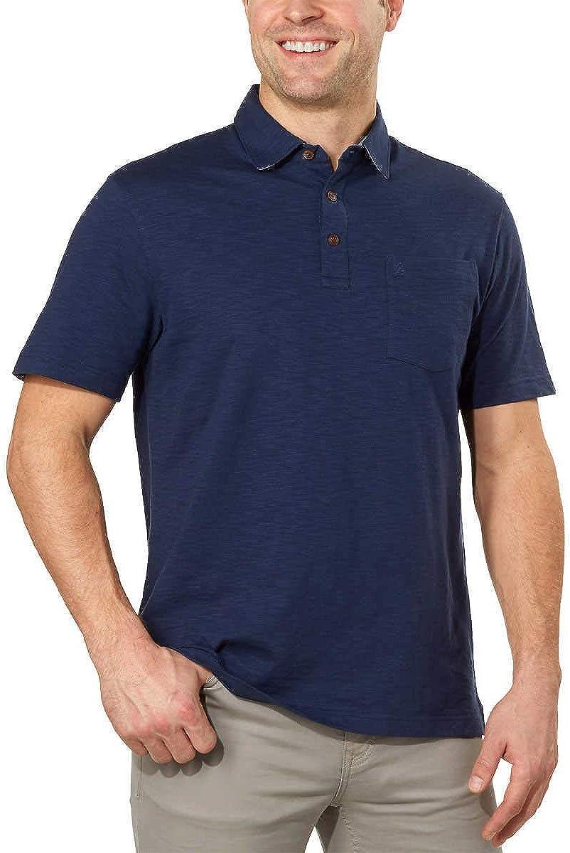 IZOD Men's shop Polo Shirts Short Indianapolis Mall Sleeve Slub Cotton Casual Shirt
