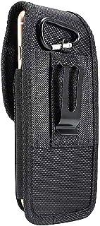 DFV mobile - Nylon Belt Holster with Metal Clip and Card Holder for InnJoo I3 - Black