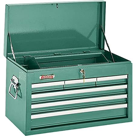 Grizzly Industrial H0838 - 6 Drawer Top Chest w/ Ball Bearing Slides