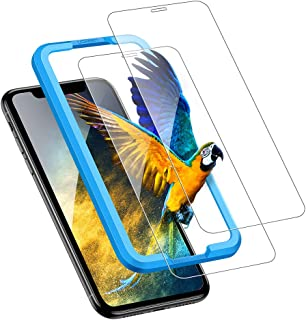 UGREEN 2 Pack iPhone 11 / XR Screen Protector compatible for iPhone 11 Screen Protective 6.1 inch Tempered HD Clear Glass ...