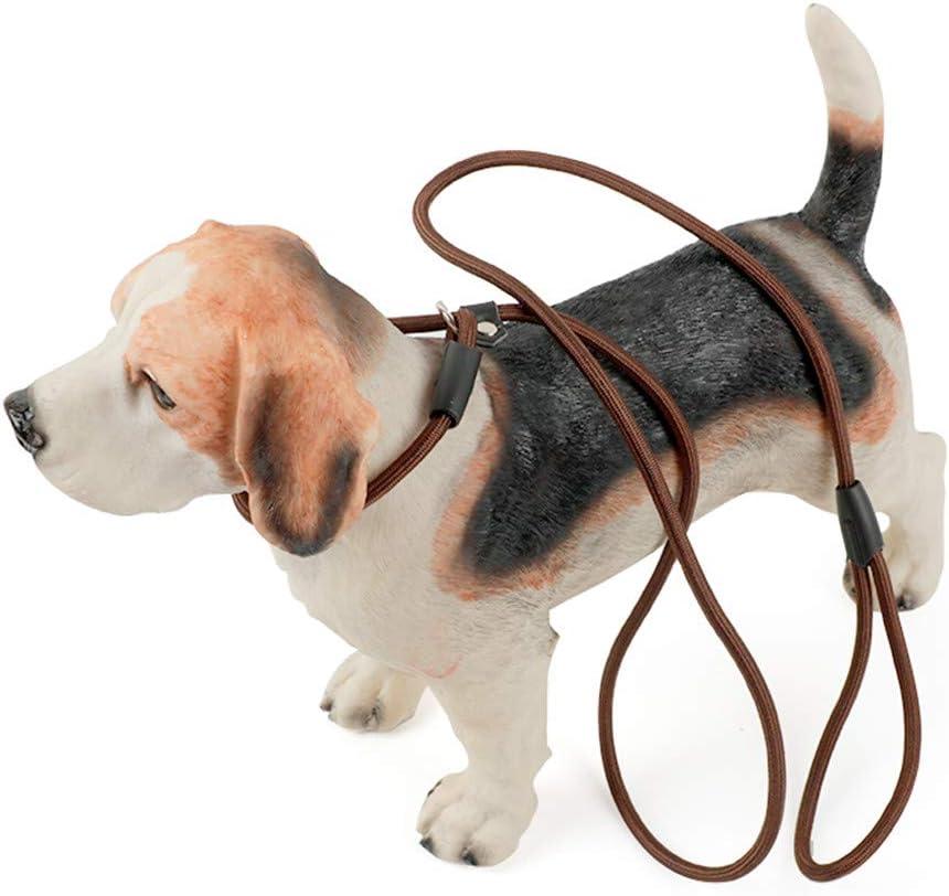 shuxuanltd Guinzaglio per Cani Guinzaglio Addestramento per Cani Dog Lead Comodo Dog Slip Lead Il Cane Conduce Forte Cavo di Cane di Corda Black,m